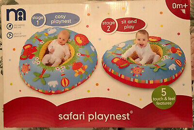 Playnest (Mothercare) Sit & Play Physical Development 5 Touch & Feel Features