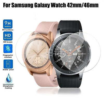 9H Tempered Glass HD Film Screen Protector For Samsung Galaxy Watch 46mm/42mm AU
