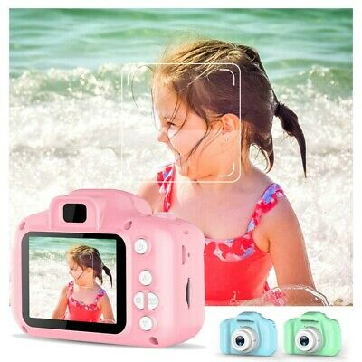 "32GB Kids Digital Pink Camera 2.0"" HD LCD Mini Camcorder Children Birthday Gifts"