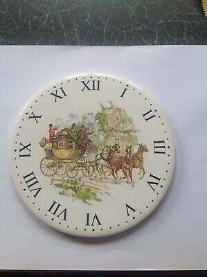 Two Country Scene Clock Dials