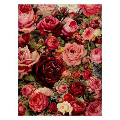 5D DIY Full Drill Rose Flowers Diamond Embroidery Painting Cross Stitch Kit