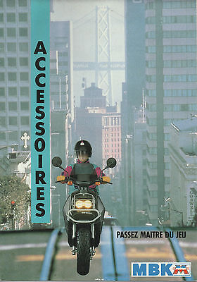 Catalogue ACCESSOIRES MBK BOOSTER CHAMP ACTIVE EVASION PASSION 51 MOBYLETTE