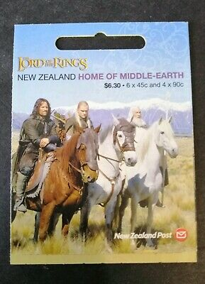 N. Zealand 2004 Lord of the Rings $6.30 booklet MUH