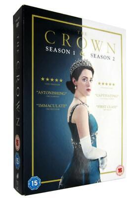 The Crown Season Series 1 & 2 (8 Discs) DVD 2018 Brand New & Sealed  Region 2