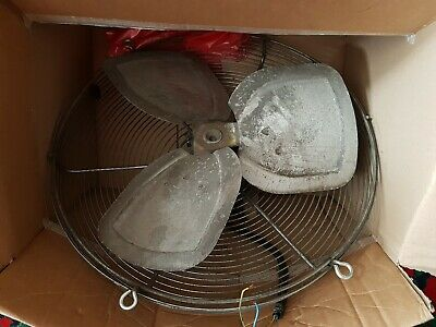 Large Industial Ventilation Fan Working When Removed