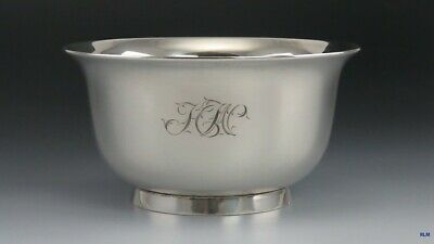 Vintage Tiffany & Co Sterling Silver English 1734 Reproduction Bowl