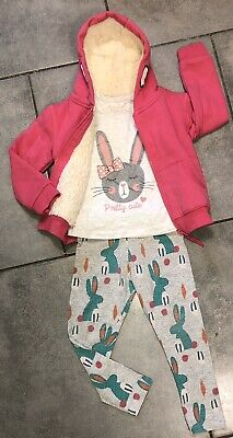 Primark...Next Girls Outfit 2-3 Y (jumper is New) Rabbit/ Bunny