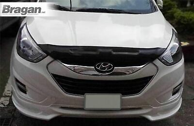 To Fit 2010 - 2015 Hyundai IX35 Smoked Hardened Acrylic Hood Bonnet Guard Shield