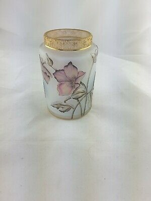 1 Daum Nancy France Jugendstil Vase um 1900