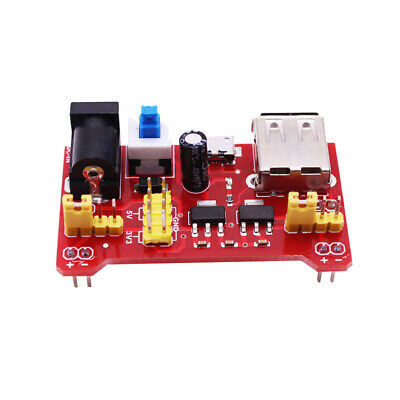 Breadboard Power Supply Board Module with MicroUSB Support 3.3V/5V Dual Voltage