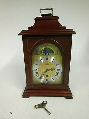 Franz Hermle Triple Tunes & Moonphase Mantle Clock (inc. Westminster Chimes)