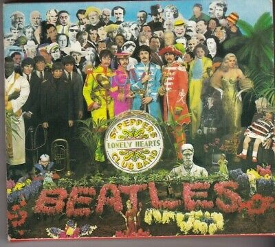 The Beatles-Sgt. Pepper's Lonely Hearts Club Band (1992). CD Album