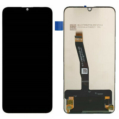 Touch Screen Lcd Display Per Huawei P Smart 2019 Pot-Lx1 Pot-Lx2 Nero Schermo