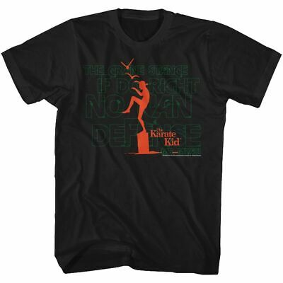 Karate Kid - Burning Out - American Classics - Adult T-Shirt