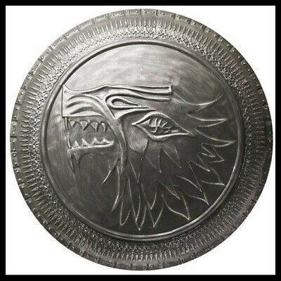 -=] VALYRIAN STEEL - Stark Infantry Shield Scudo Game of Thrones [=-