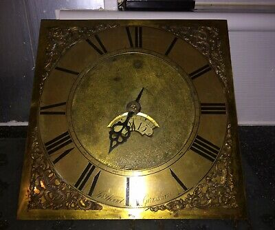 A Twelve Inch Dial Single Hander 30 Hour Longcase Clock Movement