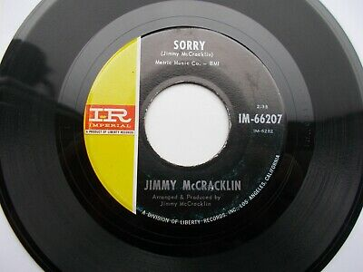Jimmy Mccracklin *Mislabelled* Sorry / It's Got To Be Love Us 45 Imperial