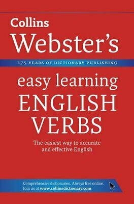 English Verbs (Collins Webster's Easy Learn... by Collins Dictionaries Paperback