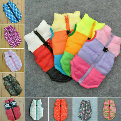 Dog Cat Coat Jacket Pet Supplies Clothes Winter Apparel Clothing Puppy Costume Z