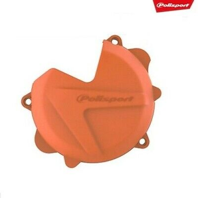 Husqvarna TC TE 250 2T 14 - 16 Hard Orange Engine Clutch Cover Casing Protection