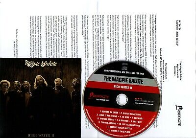 Promo Cd The Magpie Salute High Water Ii 2 Promotional Only Press Release 18/10