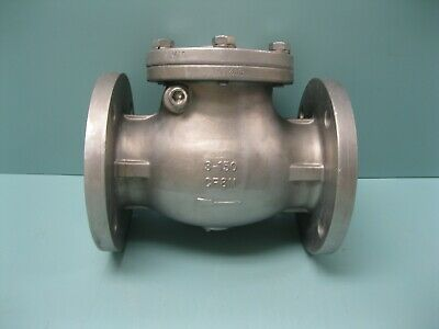 "3"" 150# Sharpe SS Flanged 25116 Swing Check Valve L25 (2599)"