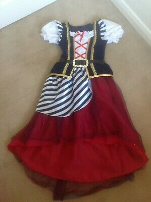 Fabulous Girls Marks & Spencers M&S Pirates Fancy Dress Costume Age 9-10 Years