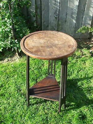 Vintage, antique side table, Art Deco, Arts & Crafts, in good used condition