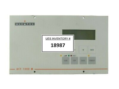ACT 1000 M Alcatel 9014 Turbomolecular Pump Controller Turbo Tested Working