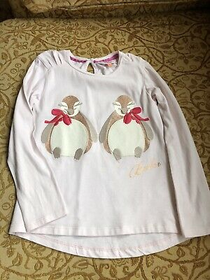 Ted Baker Girls Long Sleeve Top Age 5-6