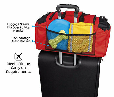 Mobile Dog Gear Week Away Duffel travel bag For Med And Large Dogs Multicoloured