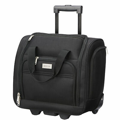 Mobile Dog Gear Geoffrey Beene Luggage 16 Inch Underseater Carry-On Black