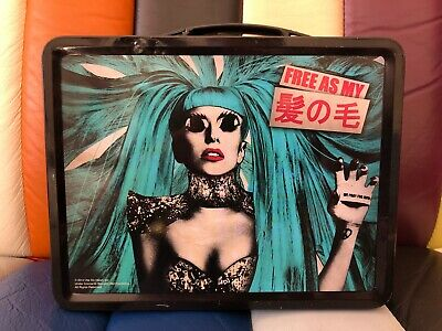 Lady Gaga - Metal Lunchbox - 2012 - Born This Way Tour -