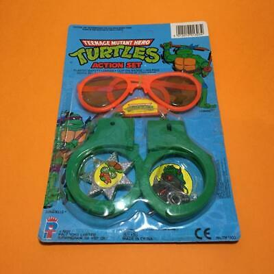 Rare Teenage Mutant Hero Ninja Turtles Kids Carded Action Toy Set 1980s