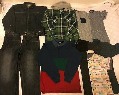 LARGE BUNDLE OF BOYS CLOTHES AGE 12 - 13 yrs
