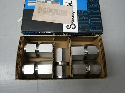 Swagelok SS-810-7-6 Connector Lot of 5!