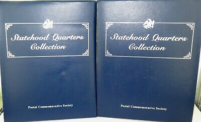 Just Superb / Vol. 1 & 2 Usa Statehood Quarters Collection. Coins & Stamps.