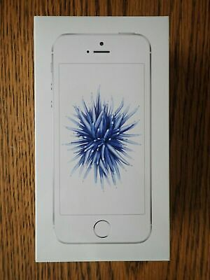 """Apple iPhone SE 32GB Silver Simple Mobile """"BRAND NEW & SEAL"""""""