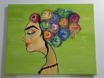 Flowers Oil paintings on canvas framed
