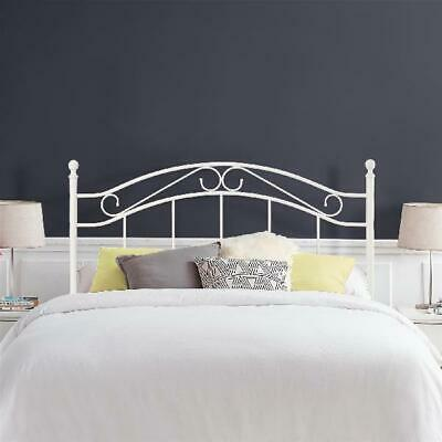 Mainstays Full/Queen Metal Headboard, White