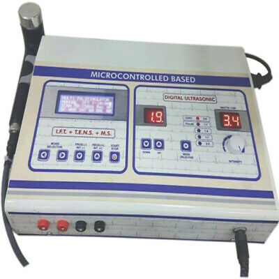 Ultrasonic Physio Therapy Machine PCD 124 4 IN 1 IFT TENS MS US Electrotherapy