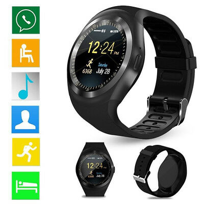 Waterproof Bluetooth Smart Watch Phone Mate For Android IOS iPhone Samsung Prof