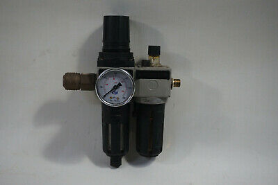 Pneumax 1720A.B.C. 17203A Maintenance Unit Pressure Reducer Pressure Regulator