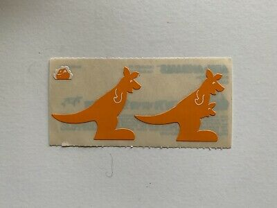 Rare Vintage Stickers - Cardesign - Ark Animal, Kangaroo 1983