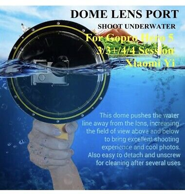 New Gopro underwater dome lens port case go pro hero 3 4  - DOME ONLY