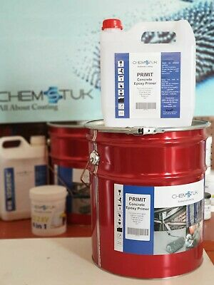PRIMIT is an epoxy concrete primer to achieve strong adhesion for floor coating.