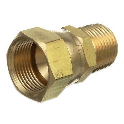 Pitco Brass Adaptor Fitting 60127601 Male To Female Swivel Nut Gas Fryer Griddle