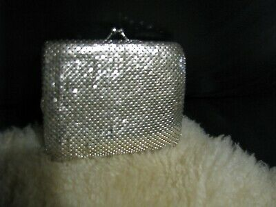 Ladies Silver mesh Wallet
