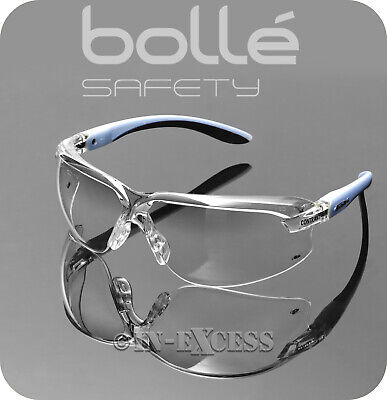 Bolle Safety AXCONT Axis Contrast High Protection Safety Cycling Clear Glasses