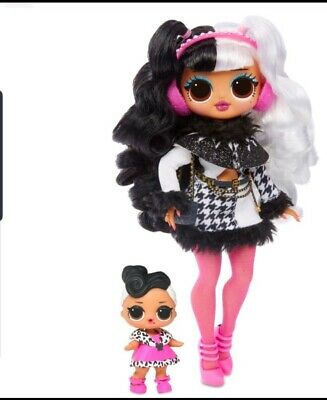 LOL SURPRISE! OMG DOLLIE & SISTER DOLLFACE Dolls Winter  Disco Wave 2 NEW